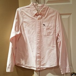 Men's Large Muscle long sleeve shirt A&F
